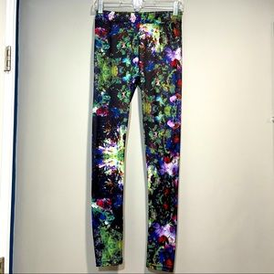 H & M flowers leggings for girls or woman size S